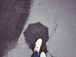 雨の日のお出かけ。の写真・画像素材[1287275]