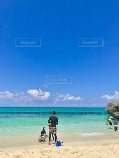 宮古島のビーチの写真・画像素材[1366626]