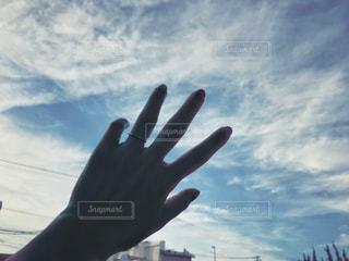 空を掴むの写真・画像素材[1532399]