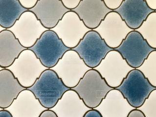 ブルーのコラベルタイルの写真・画像素材[1583279]