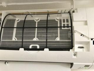 エアコンのフィルター掃除後の写真・画像素材[1697276]