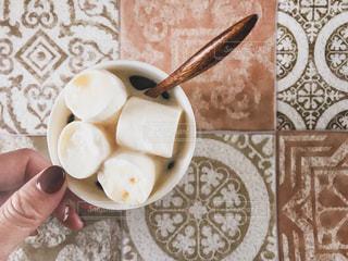 マシュマロコーヒーの写真・画像素材[1762725]