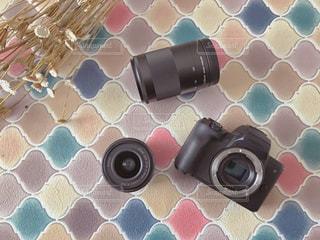 ミラーレスとレンズセットの写真・画像素材[1881580]