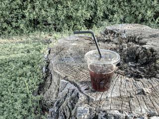 アイスコーヒーの写真・画像素材[2037842]