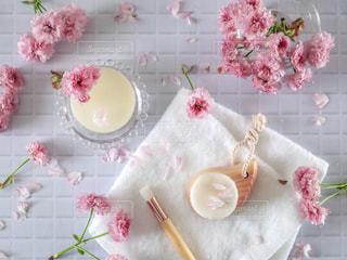 洗顔ブラシの写真・画像素材[2062861]