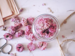八重桜のドライフラワーの写真・画像素材[2112558]