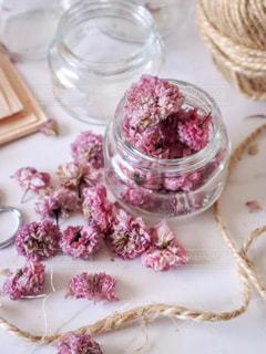 八重桜のドライフラワーの写真・画像素材[2113444]