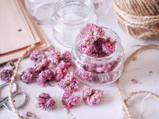 八重桜のドライフラワーの写真・画像素材[2113445]