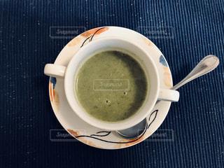 小松菜スープの写真・画像素材[2813534]