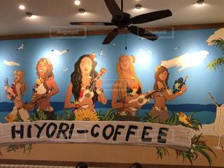 alohaな壁画の写真・画像素材[745554]