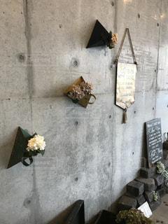 カフェのオシャレ壁の写真・画像素材[895734]