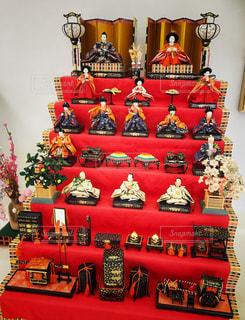 七段飾りお雛様の写真・画像素材[1019132]