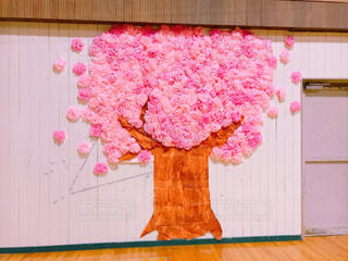 壁の桜装飾 - No.1030471