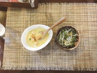 スープとサラダの写真・画像素材[1034201]
