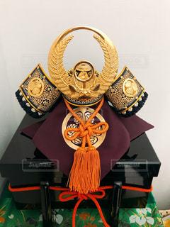 徳川家康の兜の写真・画像素材[1136182]