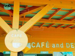 Cafe ショップの看板の写真・画像素材[1168254]