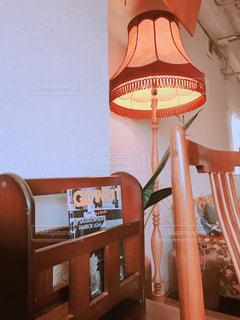 カフェのレトロな家具たちの写真・画像素材[1181924]