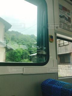 バスの窓からの景色の写真・画像素材[1273322]