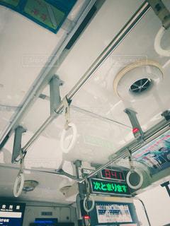 バスのつり革の写真・画像素材[1287966]