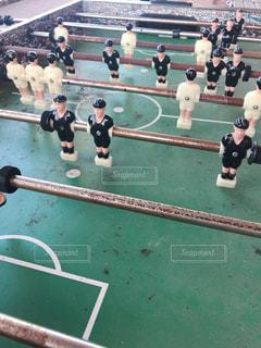サッカーボードゲームの写真・画像素材[1393941]