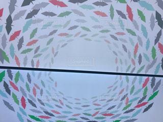 おりづるタワーエレベーターの天井の写真・画像素材[1394072]