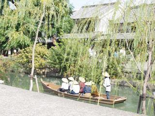美観地区の川舟の写真・画像素材[1536593]