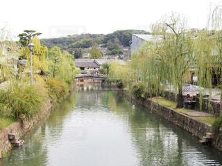 倉敷美観地区の街並みの写真・画像素材[1536602]