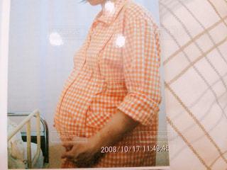 お産当日の妊婦の写真・画像素材[1543833]