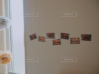 マスキングテープに単語を書いて覚えるの写真・画像素材[1677842]