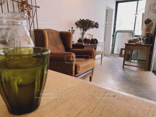 おしゃれカフェの素敵なインテリアの写真・画像素材[1750807]