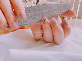 爪の手入れの写真・画像素材[2201068]