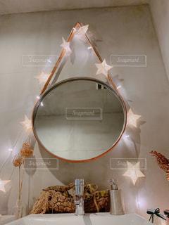 可愛い洗面所の写真・画像素材[2376034]