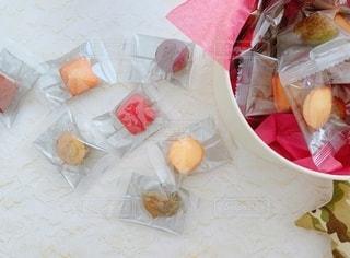 かわいい焼き菓子の写真・画像素材[2666340]