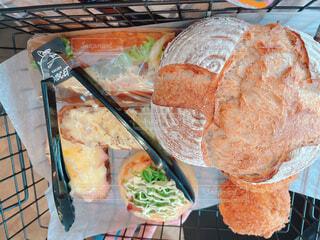 パン屋さんのパンたちの写真・画像素材[4404818]