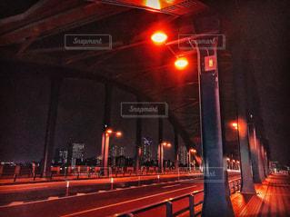 夜の多摩川の写真・画像素材[757257]