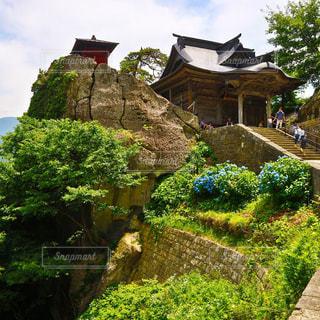 山寺の写真・画像素材[757259]