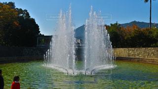 噴水の写真・画像素材[858047]