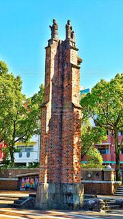 原爆で残った柱の写真・画像素材[858050]