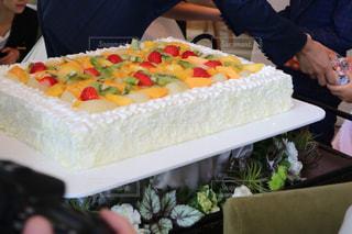 ウェディングケーキの写真・画像素材[858330]