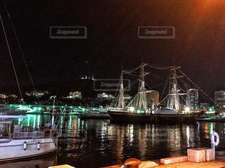 夜の港 - No.858335