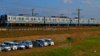 田舎町の電車 - No.858337