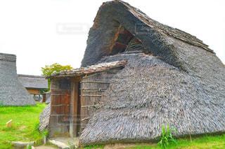 登呂遺跡の竪穴式住居 - No.929130