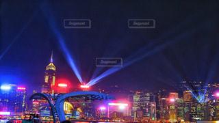 香港の夜の写真・画像素材[1487781]