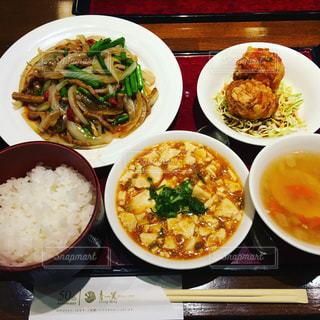 中華料理セットメニューの写真・画像素材[931724]