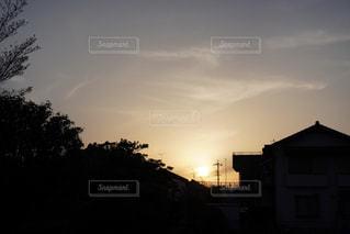 夕日の写真・画像素材[2043982]