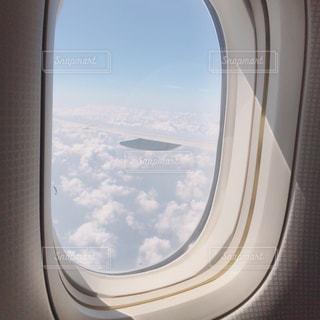 飛行機からみた空の写真・画像素材[819070]