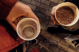 一杯のコーヒーの写真・画像素材[745576]