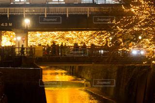 夜の街の景色の写真・画像素材[861205]
