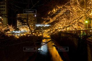 夜の街の景色の写真・画像素材[861207]