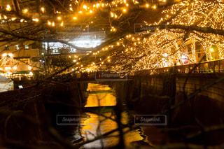夜の街の景色の写真・画像素材[861208]